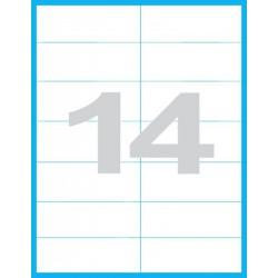 105x42,3 mm Print etikety / samolepicí etikety