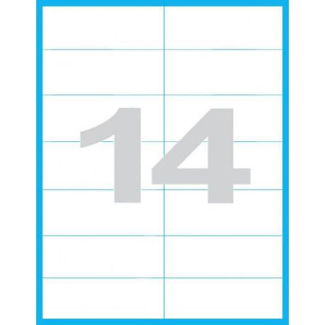 105x42,3 mm - Print etikety / archové etikety