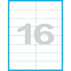 105x37 mm - Print etikety / archové etikety