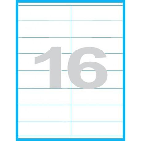 105x35 mm - Print etikety / archové etikety