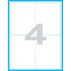 100x124 mm Print etikety / samolepicí etikety