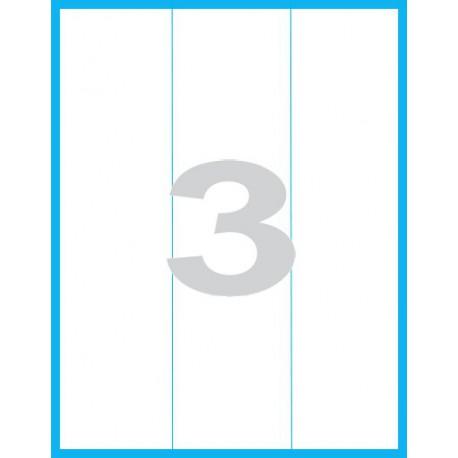 70x297 mm - Print etikety / archové etikety