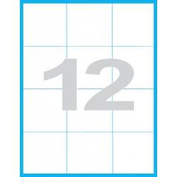 70x74 mm Print etikety / samolepicí etikety