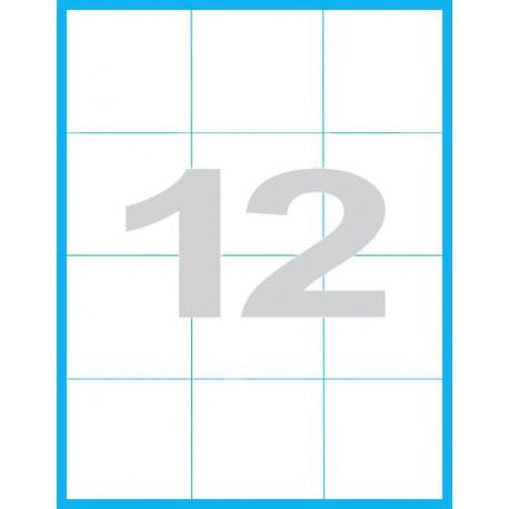 70x74 mm - Print etikety / archové etikety