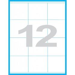 70x67,7 mm Print etikety / samolepicí etikety