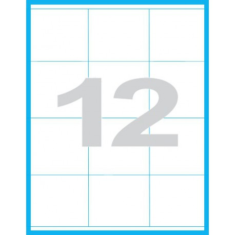 70x67,7 mm - Print etikety / archové etikety