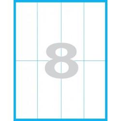 52,5x148,5mm Print etikety / samolepicí etikety