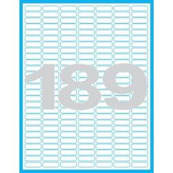 25,4x10 mm - Print etikety / archové etikety
