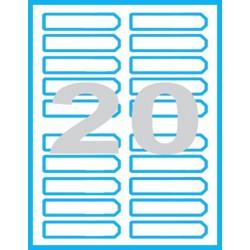 90x25 mm - Print etikety / archové etikety