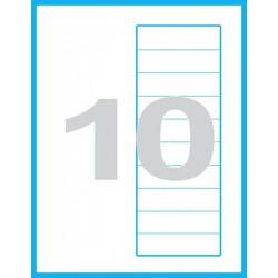 210x297 mm speciální Print etikety / samolepicí etikety
