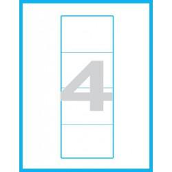 100x60 mm Print etikety / samolepicí etikety