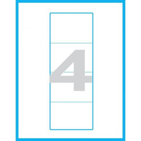 100x60 mm - Print etikety / archové etikety