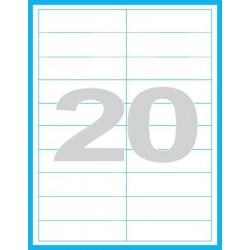 100x28 mm Print etikety / samolepicí etikety