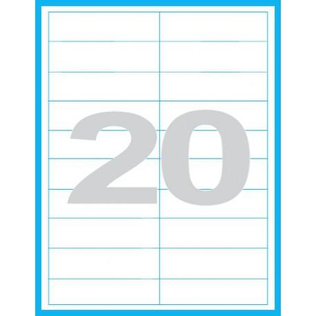 100x28 mm - Print etikety / archové etikety