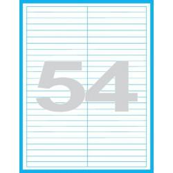 97x11 mm Print etikety / samolepicí etikety