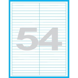 97x11 mm - Print etikety / archové etikety