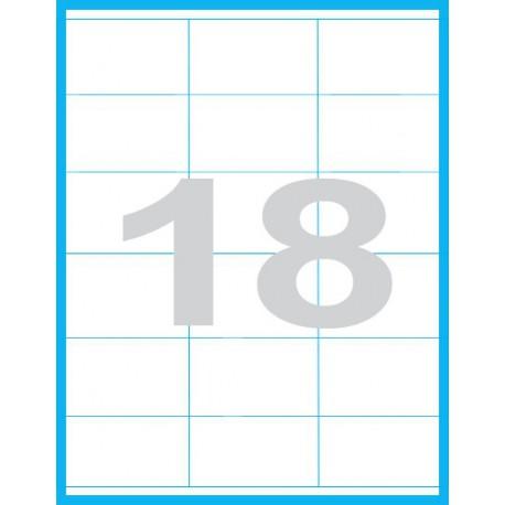 70x48 mm - Print etikety / archové etikety