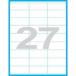 70x31,5 mm Print etikety / samolepicí etikety