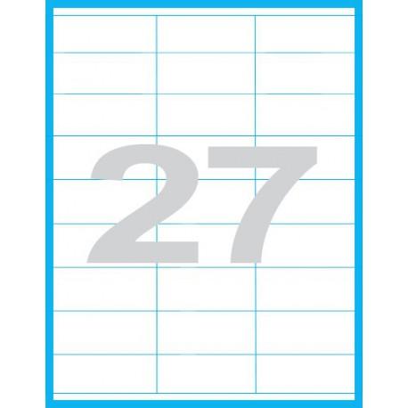 70x31,5 mm - Print etikety / archové etikety