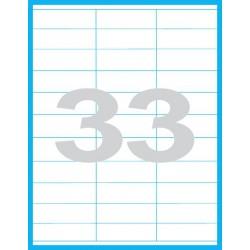 70x25,4 mm Print etikety / samolepicí etikety