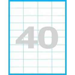 52,5x29,6 mm Print etikety / samolepicí etikety