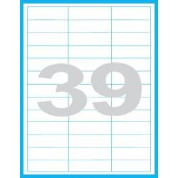 64x21mm Print etikety / samolepicí etikety