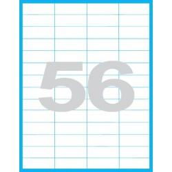 52,5x21,2mm Print etikety / samolepicí etikety (56 ks)