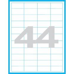48,5x25,4 mm Print etikety / samolepicí etikety (44 ks)
