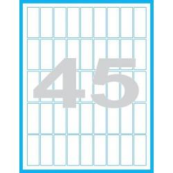20x50 mm Print etikety / samolepicí etikety
