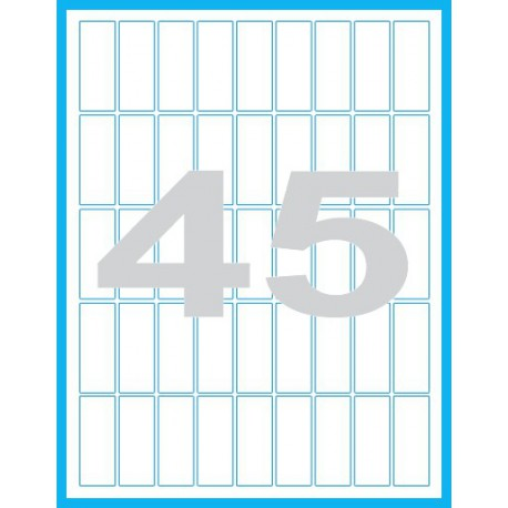 20x50 mm - Print etikety / archové etikety