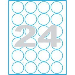Kruh 40 mm - Print etikety / archové etikety