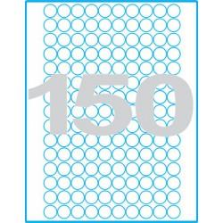 Kruh 18 mm Print etikety / samolepicí etikety