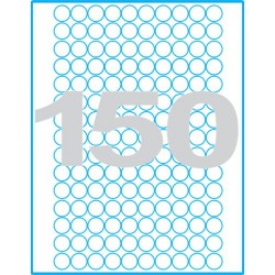 Kruh 18 mm - Print etikety / archové etikety
