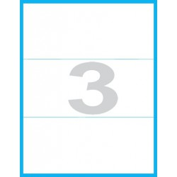 210x100 mm - Print etikety / archové etikety