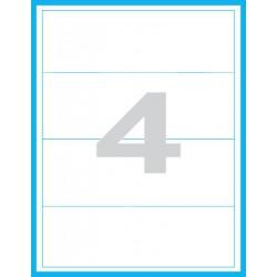 192x61 mm Print etikety / samolepicí etikety
