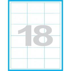 68x46,8 mm Print etikety / samolepicí etikety