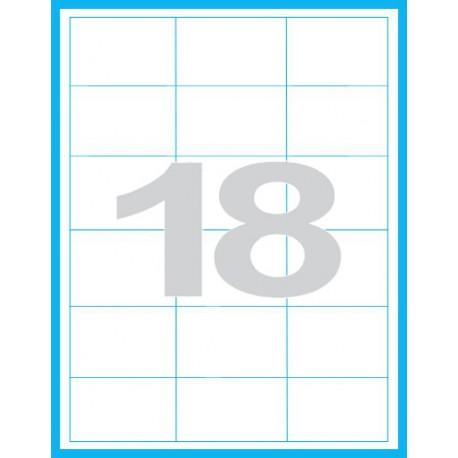 68x46,8 mm - Print etikety / archové etikety
