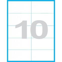 105x57 mm Print etikety / samolepicí etikety