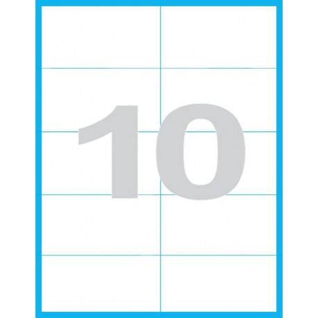 105x57 mm - Print etikety / archové etikety