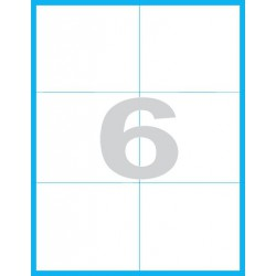 105x99 mm Print etikety / samolepicí etikety