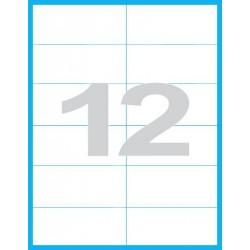 105x48 mm Print etikety / samolepicí etikety