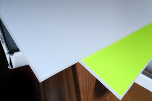 Hotové archy A4 samolepicích etiket